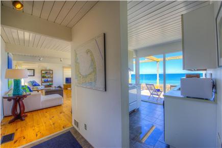 East Sandwich Cape Cod vacation rental - Water view through galley kitchen.