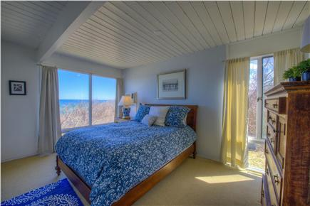 East Sandwich Cape Cod vacation rental - Master bedroom with full water views.