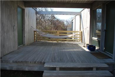 East Sandwich Cape Cod vacation rental - Breezeway passage from main house to second bedroom.