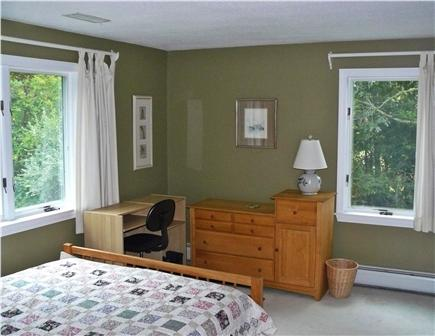 East Orleans Cape Cod vacation rental - Queen bedroom (with desk, wired-Internet & Wi-Fi router)