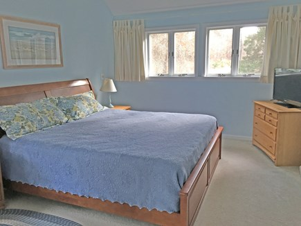 East Orleans Cape Cod vacation rental - 2nd-floor master bedroom (with TV)