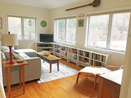 East Orleans Cape Cod vacation rental - Sun room (with TV)