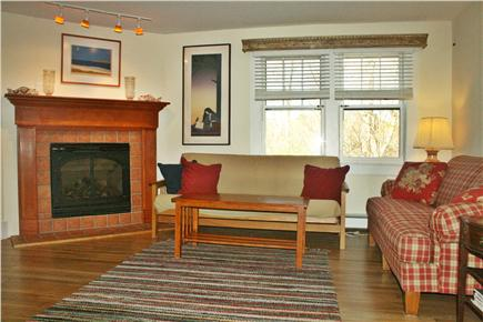 Dennis Cape Cod vacation rental - Enjoy the cross breeze or the fireplace in the living room