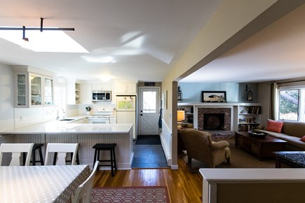 Chatham Cape Cod vacation rental - Eat in kitchen and living room with lots of seating