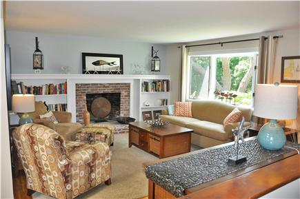 Chatham  Cape Cod vacation rental - Bright living room off kitchen