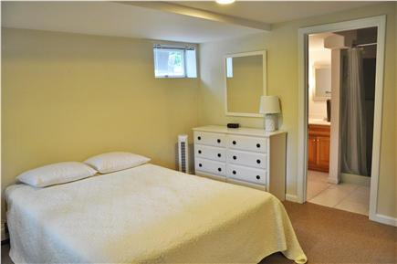 Chatham  Cape Cod vacation rental - Downstairs bedroom with Queen bed and bathroom with shower
