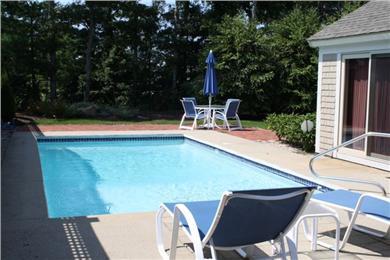 New Seabury, Mashpee New Seabury vacation rental - Beautiful and private gunite pool.