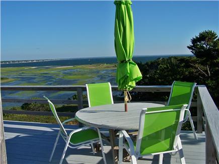 Lieutenant Island, Wellfleet Cape Cod vacation rental - View from the top deck