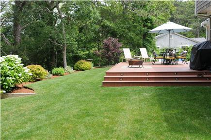 West Yarmouth Cape Cod vacation rental - Back Yard  - great to play lawn games on