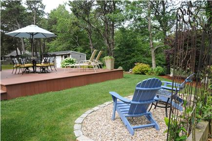 West Yarmouth Cape Cod vacation rental - Beautiful Back Yard & Deck