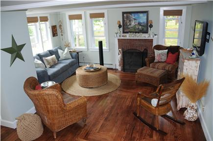 West Yarmouth Cape Cod vacation rental - Living room - great for reading