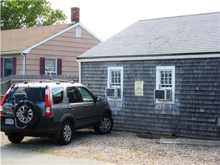 Provincetown Cape Cod vacation rental - There is enough parking for 2 cars