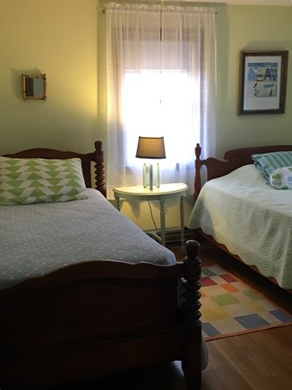 Eastham Cape Cod vacation rental - Bedroom with one double and one twin