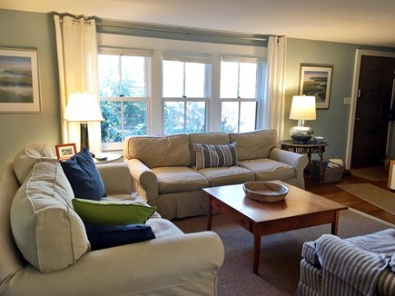 Eastham Cape Cod vacation rental - Living room with tv, wireless, games, lots of comfortable seating