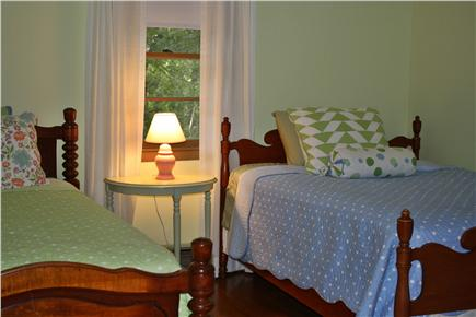 Eastham Cape Cod vacation rental - Bedroom with 1 double and 1 twin bed, comfy new matresses