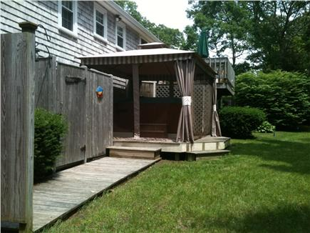 Yarmouth Port Cape Cod vacation rental - Outside shower area / Hot Tub