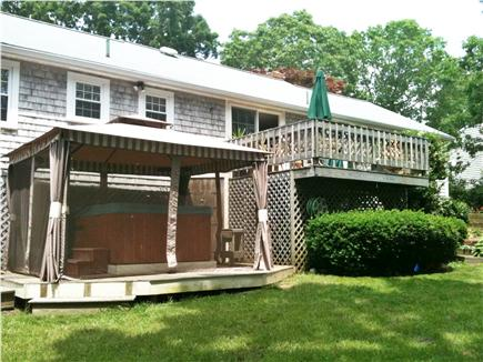 Yarmouth Port Cape Cod vacation rental - Hot Tub & upper deck
