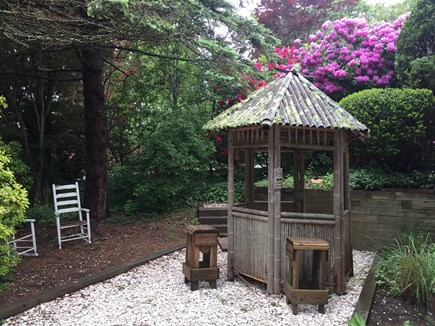 Yarmouth Port Cape Cod vacation rental - Backyard tiki bar