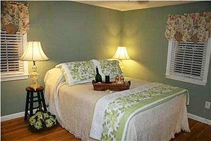 Yarmouth Port Cape Cod vacation rental - Master Bedroom with TV