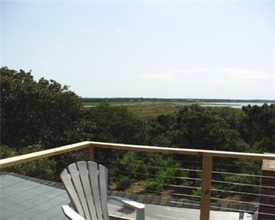 Eastham Cape Cod vacation rental - View from rooftop deck (facing south)