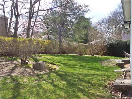 Centerville Centerville vacation rental - The back yard