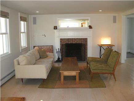Truro Cape Cod vacation rental - Comfortable open living room