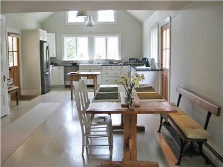 Truro Cape Cod vacation rental - Kitchen / Dining area open to living room
