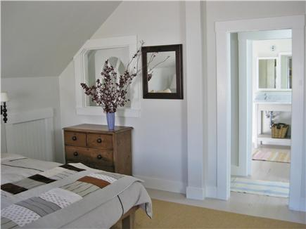 Truro Cape Cod vacation rental - Master bedroom on 2nd floor with comfortable king bed