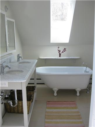 Truro Cape Cod vacation rental - Master Bath with separate shower & tub on 2nd floor