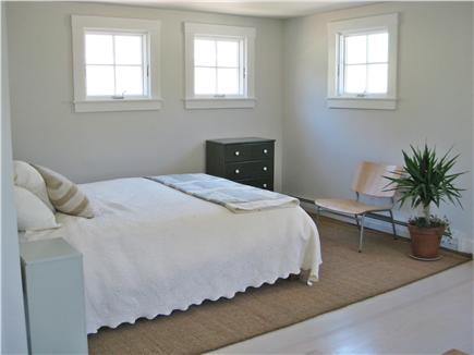Truro Cape Cod vacation rental - Master Queen-Downstairs with separate entrance & deck
