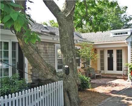 Provincetown Cape Cod vacation rental - Rear patio/entrance