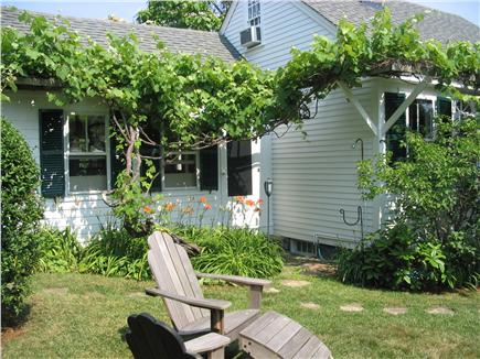 Provincetown Cape Cod vacation rental - Arbor vine and outdoor shower