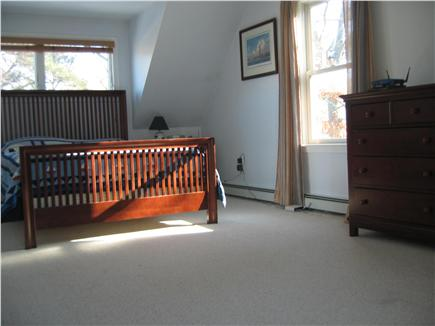 Falmouth Cape Cod vacation rental - 3rd Bedroom with sliders to balcony