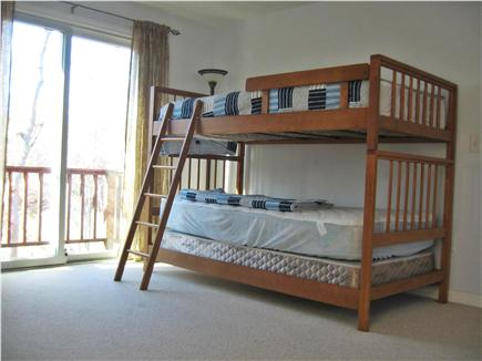 Falmouth Cape Cod vacation rental - 3rd Bedroom Bunk Beds