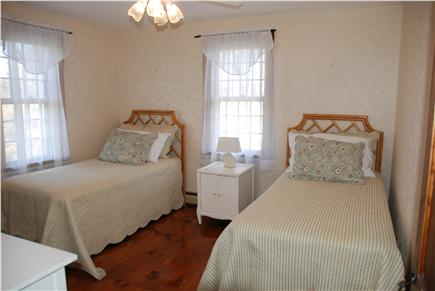 Dennisport Cape Cod vacation rental - Second upstairs bedroom features twin beds and generous closet.