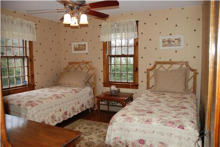 Dennisport Cape Cod vacation rental - Very private downstairs bedroom is adjacent to second bath.