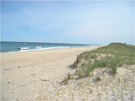 East Orleans Cape Cod vacation rental - Nauset Beach Looking South