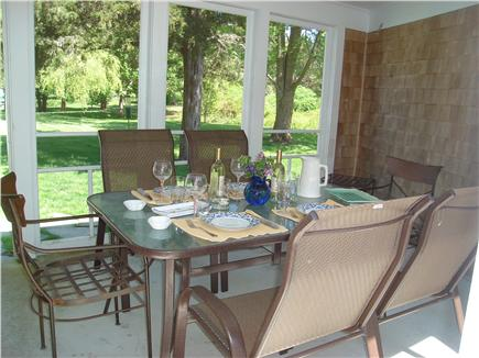 East Orleans Cape Cod vacation rental - Enjoy seabreezes and cocktails on the porch