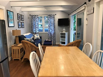 Orleans Cape Cod vacation rental - Kitchen table is perfect for games and puzzles.