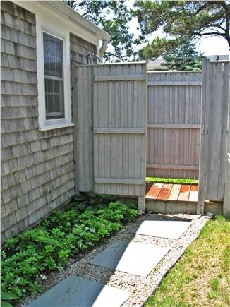 South Chatham - Forest Beach Cape Cod vacation rental - Outdoor enclosed shower