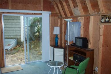 East Falmouth, Great Harbors Cape Cod vacation rental - Inside cabin view
