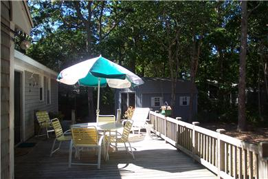 East Falmouth, Great Harbors Cape Cod vacation rental - Deck