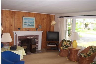 East Falmouth, Great Harbors Cape Cod vacation rental - Living room