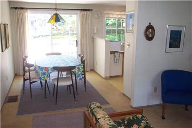 East Falmouth, Great Harbors Cape Cod vacation rental - Dining room