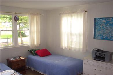 East Falmouth, Great Harbors Cape Cod vacation rental - Corner bedroom - new mattreses