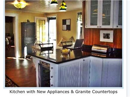 West Harwich Cape Cod vacation rental - Kitchen with New Appliances & Granite Countertops