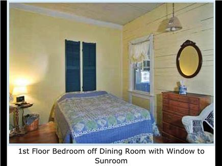 West Harwich Cape Cod vacation rental - First floor Bedroom
