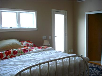 Wellfleet Cape Cod vacation rental - Second floor master bedroom (king) - full bath, deck