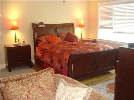Wellfleet Cape Cod vacation rental - First floor master bedroom (queen) - full bath,  air tub, deck