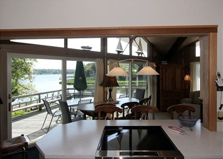 Orleans Cape Cod vacation rental - Water views from the kitchen